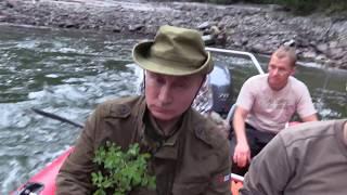 Отпуск В В Путина  Поездка в Тыву, 1–3 августа