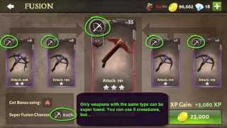 Dungeon Hunter 5: Fusion and Super Fusion step by step guide