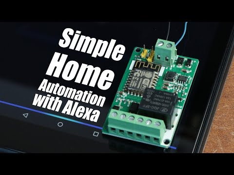 How to do Simple Home Automation with Amazon Alexa || ESP8266