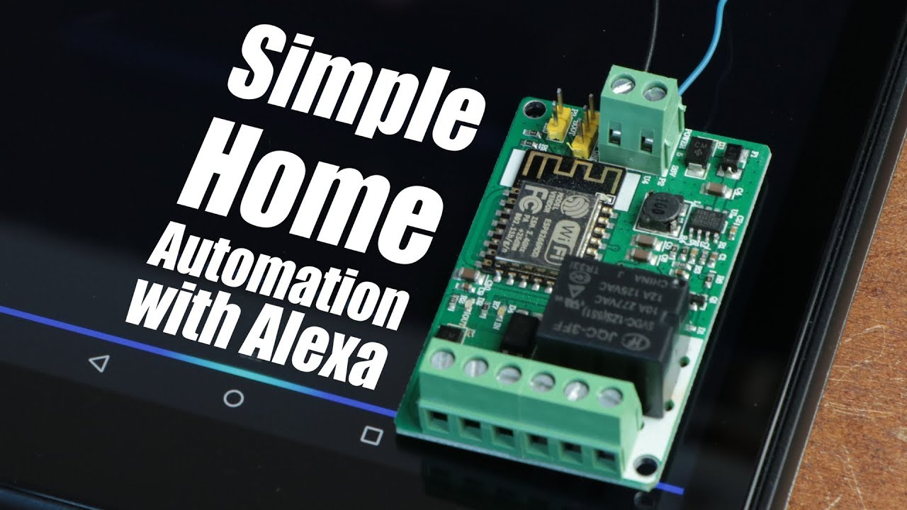 How to do simple home automation with amazon alexa esp8266 youtube how to do simple home automation with amazon alexa esp8266 publicscrutiny Image collections