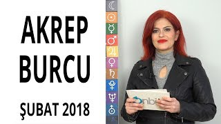 Akrep Burcu Şubat 2018 Astroloji