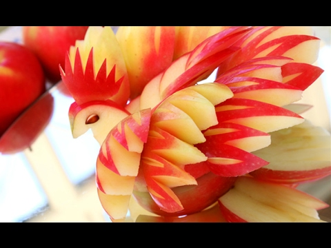 How To Make Apple Decoration | Apple Food Art | Fruit Carving Decoration