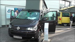 Volkswagen California Comfortline Generation 2015 In detail review walkaround Interior...