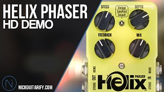 TC Electronic Helix Phaser Demo/Review - Nick Ioannou