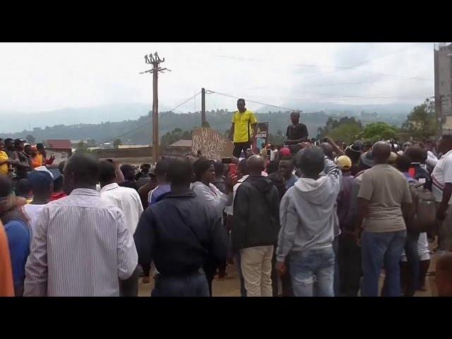 Камерун: протесты англоговорящего населения