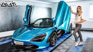 Was macht der McLaren 720S Spider in meiner Garage?