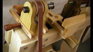 Treadle Lathe And Easy Wood Tools