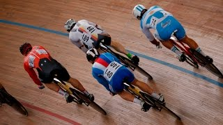 men s keirin gold final track cycling world cup cali colombia