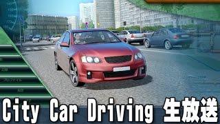 City Car Driving 生放送 「色んな車で雪道を走ってみよう」