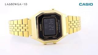 CASIO 카시오 남성 금장 메탈 시계 LA680WGA-1B 국내배송