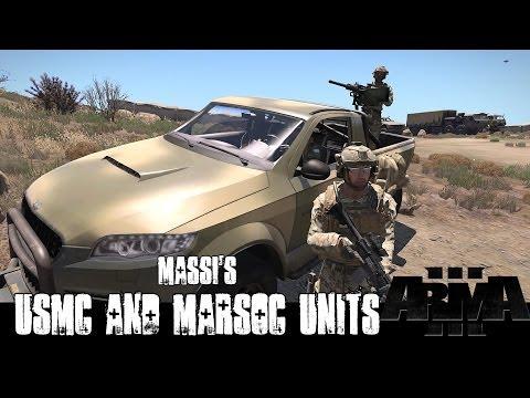 ArmA 3 Mods - Massi's USMC and MARSOC Units