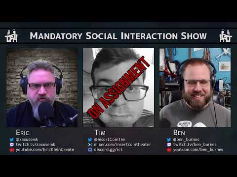 Mandatory Social Interaction Show #4: I know what I mean, know what I mean?