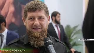 Рамзан Кадыров посетил Международную оборонную выставку IDEX-2019 в ОАЭ