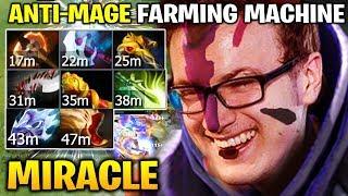 MIRACLE ANTI MAGE FARMING MACHINE 600 LAST HIT