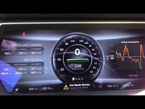 Tesla Model S Timeline Trailer