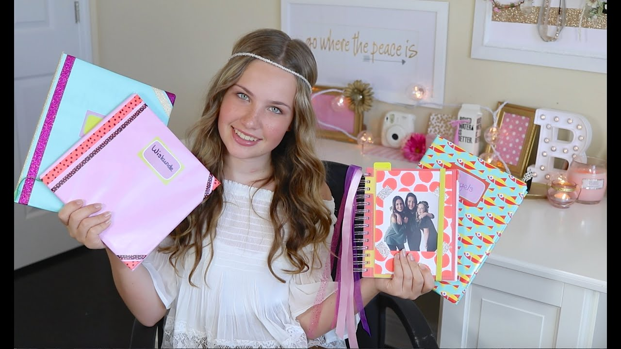 Populair BOEKEN KAFTEN & AGENDA PIMPEN 📚BeautyNezz School DIY📚 - YouTube @WT59