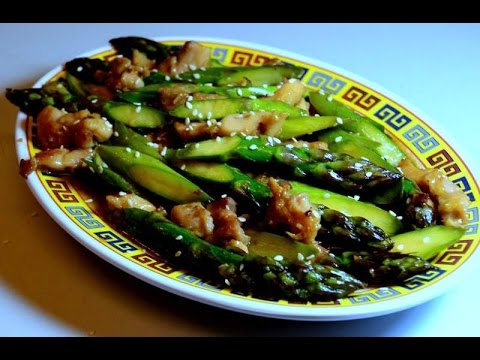 Stir fry chicken asparagus in hoisin sauce youtube stir fry chicken asparagus in hoisin sauce ccuart Gallery