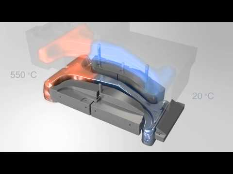 thyssenkrupp InCar®plus - Prototyping of B-pillar (hot forming, tailored tempering)