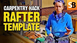 Robin's Rafter Trick  - Carpentry  Hack