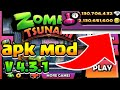 Gambar cover Download Zombie Tsunami Mod V 4.3.1 Unlimited Gems & Coin | Unlock all item ~ new version 2020