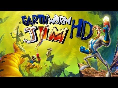 Earthworm Jim HD Прохождение (PS3)