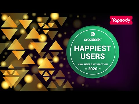 Yapsody Bags Another Crozdesk Excellency Badge