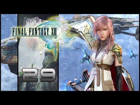 Guia Final Fantasy XIII (PS3) Parte 29 - Pasillos interiores del Palamecia
