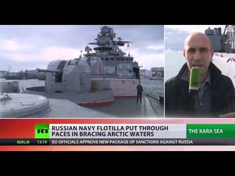 Arctic Odyssey: Russian navy put through paces in bracing waters