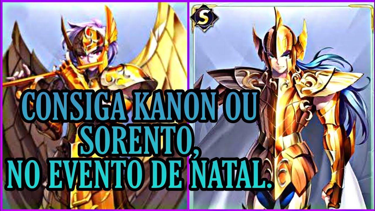 Kanon ou Sorento. Chance de Conseguir Classe S Fácil - Saint Seiya Awakening