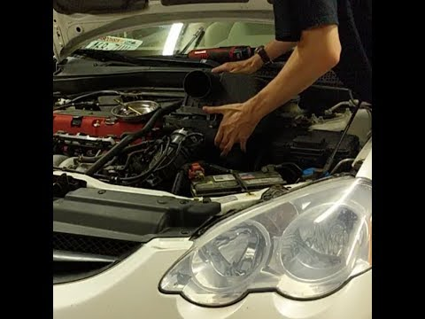 Ebay Air Intake Install on an 04 Acura RSX Type-S