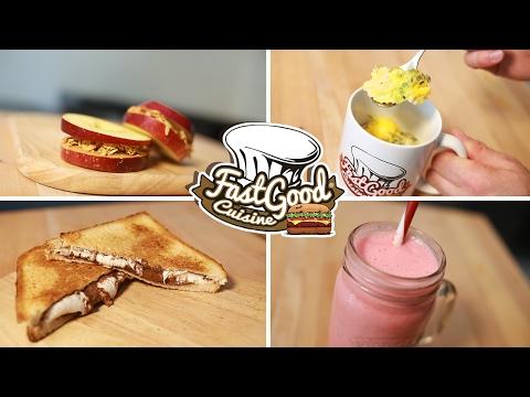 petit‑déjeuner-!-4-recettes-à-faire-en-5-minutes