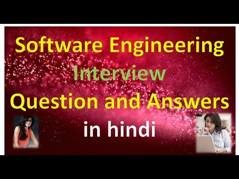 Software Engineering Interview Question and Answers in hindi