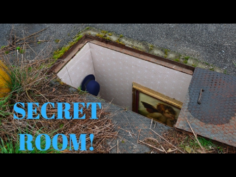 Secret room in my house you wont believe what i found for Rooms under the garden