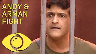 Andy and Arman Fight! - Bigg Boss 7   Big Brother Universe