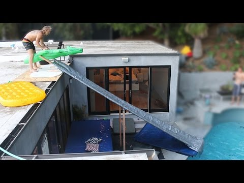 Thumbnail: Duct Tape Slide OFF MY ROOF!
