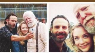 the walking dead cast\funny moments