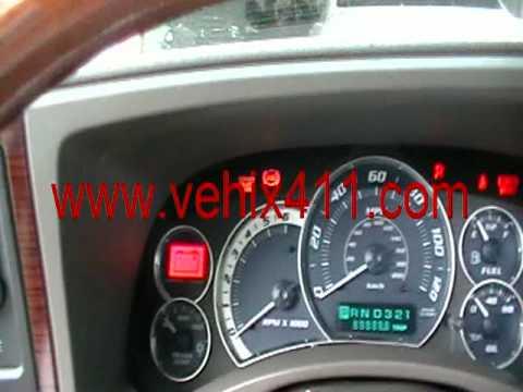 Cadillac Escalade Engine Oil Light Reset