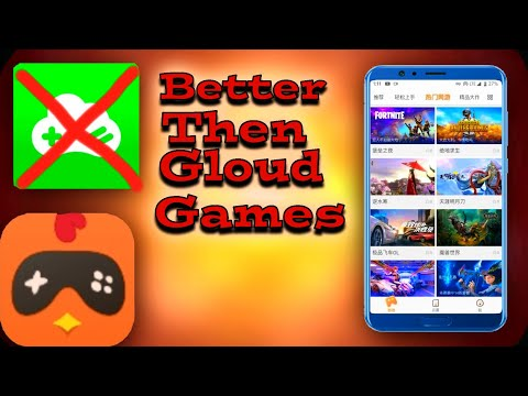 NEW CLOUD GAMING APP ON ANDROID BETTER THAN GLOUD GAMES | ALL PC AND