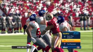 Madden NFL 13 Demo Gameplay (PlayStation 3)