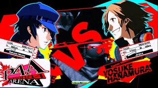 Persona 4 Arena Ultimax Gameplay 60fps ✓ If you want to send me a m...