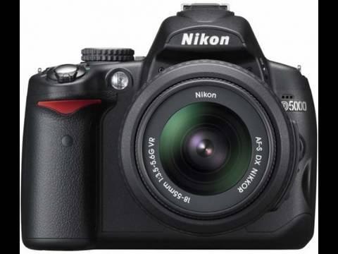 Nikon D5000 HD Video Test 720p DSLR Camera