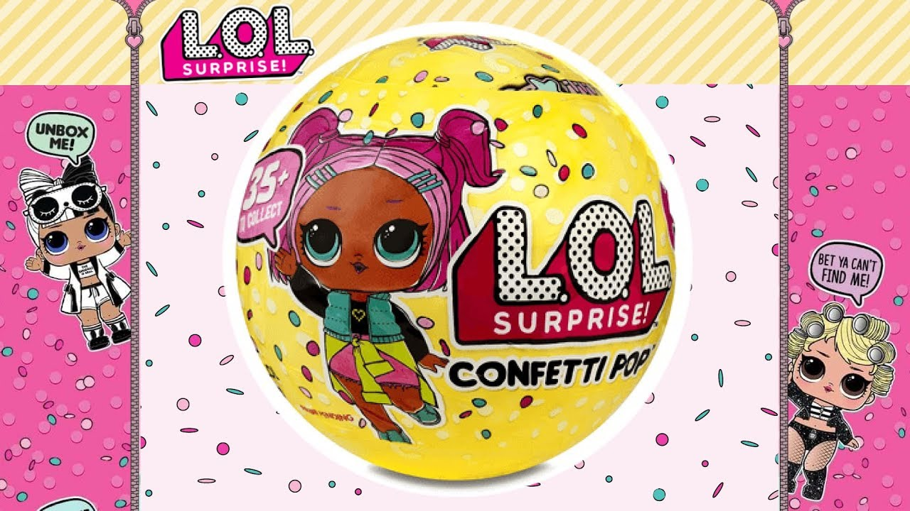 lol confetti pop mijn bal klopt niet