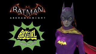 SKIN; Batman; Arkham Knight; Classic TV Series Batgirl