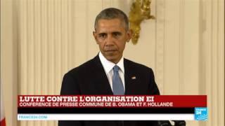 Lutte contre Daech - Barack Obama s