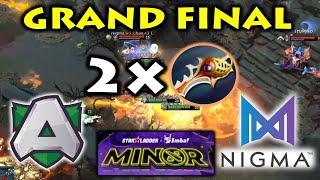 DOUBLE RAPIER in CRAZY GRAND FINAL !! NIGMA vs ALLIANCE - GAME 3,4,5 StarLadder Minor 2020 EU Quali