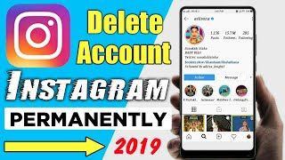 How To Delete Instagram Account Permanently 2020 | Instagram Account Delete Kaise Kare