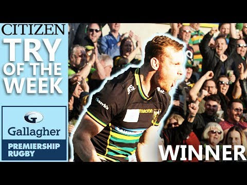 Hutchinson Scores Brilliant Saints Try | Citizen Try Of The Week - Round 14 WINNER