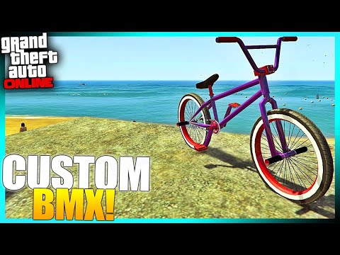 How To Customize BMX Bike Colors AFTER Patch 1.46 (GTA Online)