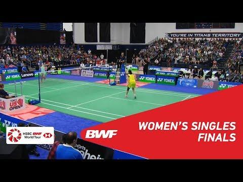 WS | Beiwen ZHANG (USA) [1] Vs LI Xuerui (CHN) | BWF 2018