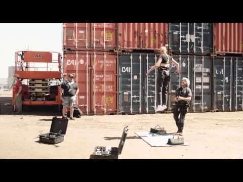 ANTM CYCLE 22 BTS: Rigging Test Run & Shipyard Tour